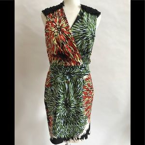 Ali Ro Dress with Shoulder Embellishments